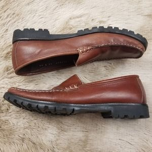 Cole Haan Country Brown Driving Loafer Shoes 10
